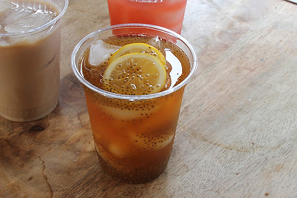 Chia Lemon Iced Tea