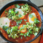 Shakshuka with Brussels Sprouts
