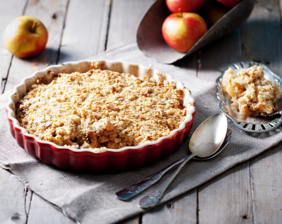 Almond Apple Crumble