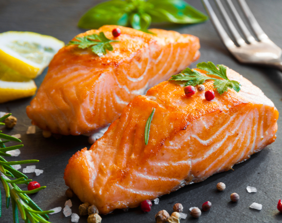 roasted spicy salmon