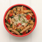 vegetable parmesan penne