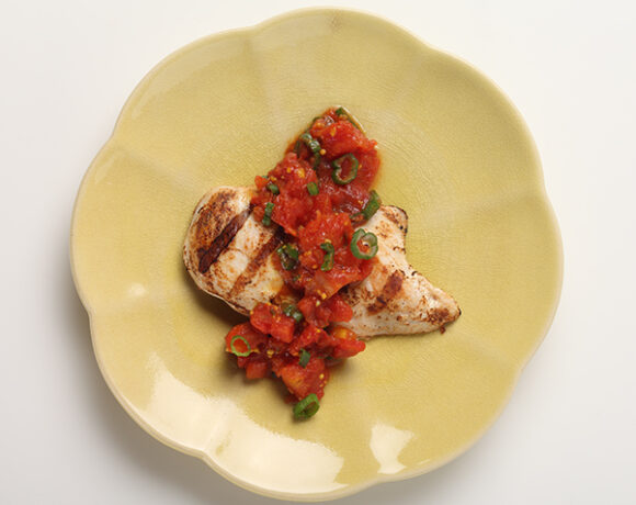Tomato Chutney and Grill Chicken