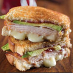 Cranberry, Turkey and Brie Panini