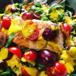 Sorghum and Lentil Power Bowl with Seared Salmon