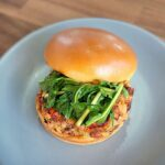 Black Eyed Pea Burger