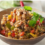 Thai Sorghum Pilaf with Peanuts